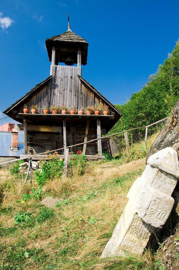 Corbii de Piatra Monastery immagine stock libera da diritti
