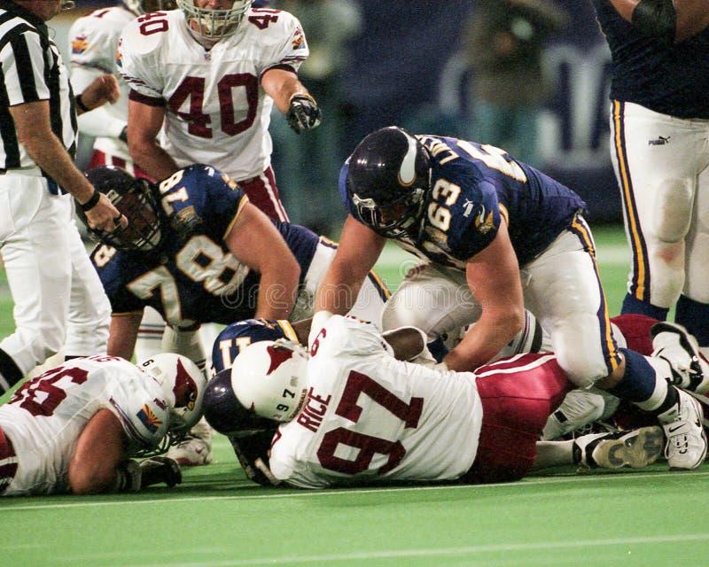Corbin Lacina, Minnesota Vikings foto de stock