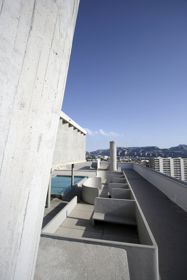 Free Corbusier Roof Royalty Free Stock Image - 779986