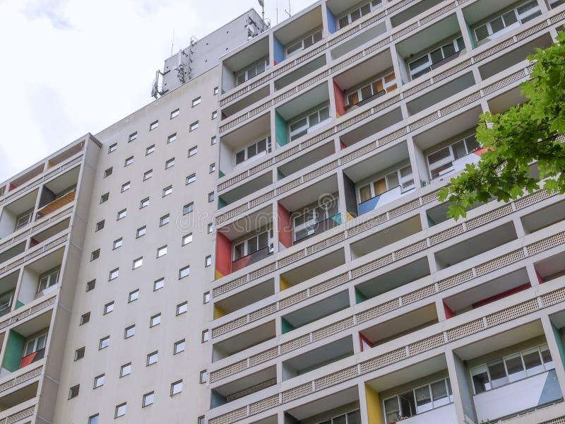 Corbusierhaus Berlino immagine stock