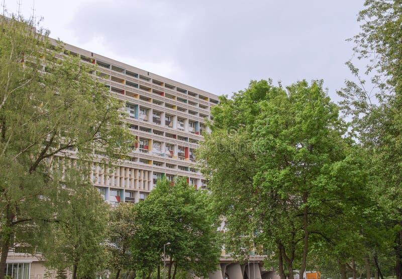 Corbusierhaus Berlino immagini stock