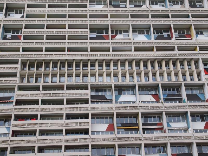 Corbusierhaus Berlino fotografie stock libere da diritti