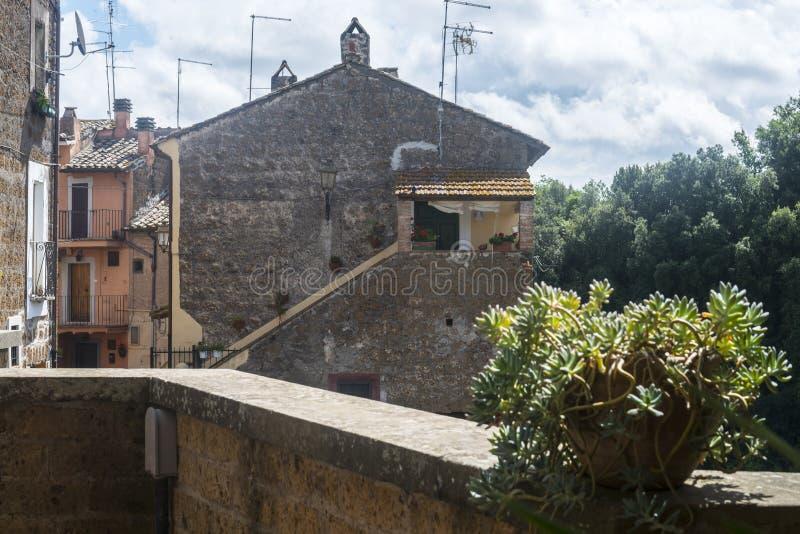 Corchiano (Ιταλία) στοκ φωτογραφία με δικαίωμα ελεύθερης χρήσης
