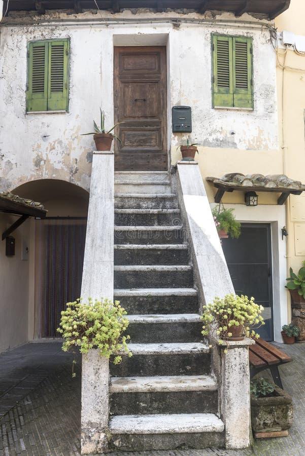 Corchiano (Italië) stock foto