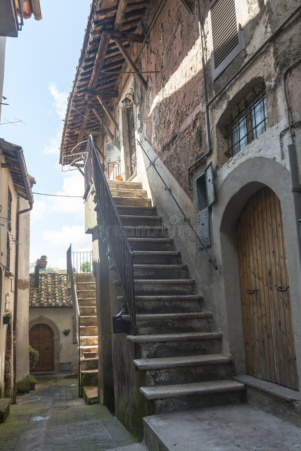 Corchiano (Italië) stock fotografie