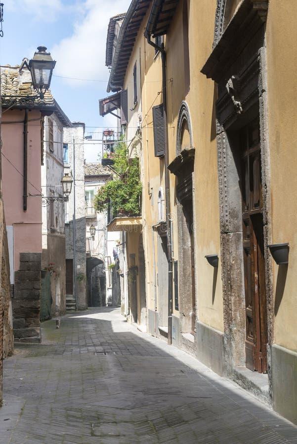 Corchiano (Italië) stock foto's