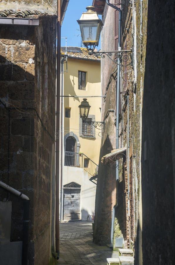 Corchiano (Italië) royalty-vrije stock afbeelding