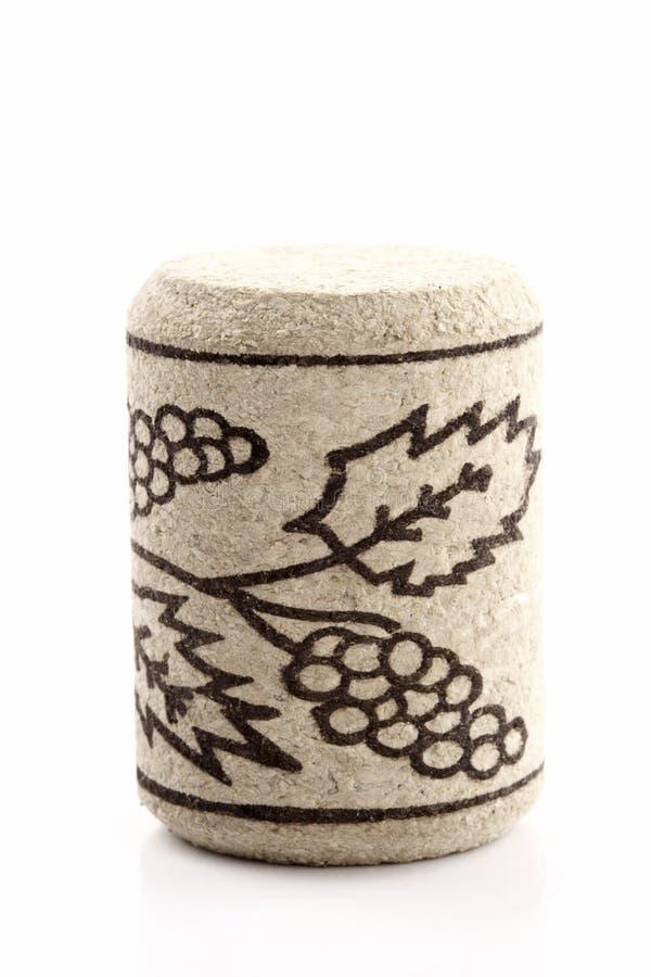 Corcho exhausto del vino imagen de archivo