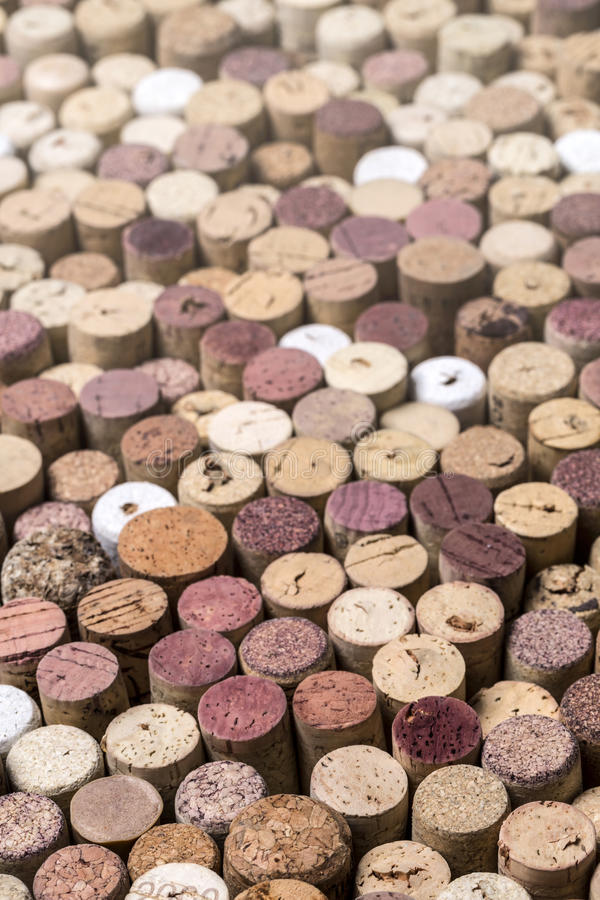 Corchos del vino como fondo, imagenes de archivo