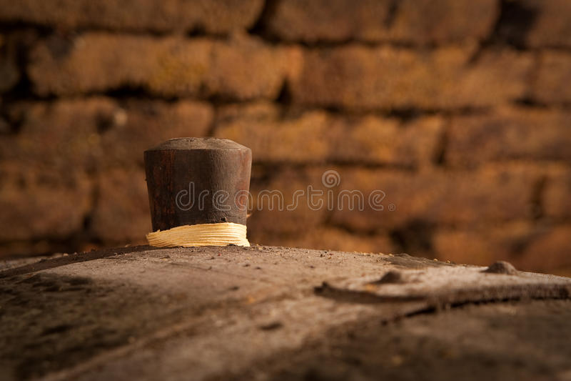 Corck de baril photo libre de droits