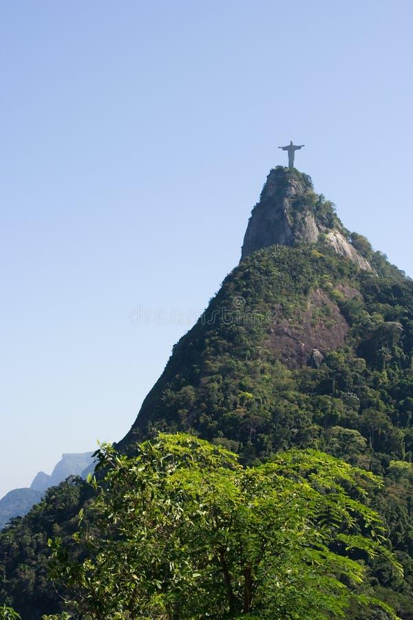 Corcovado, Rio de Janeiro foto de archivo libre de regalías