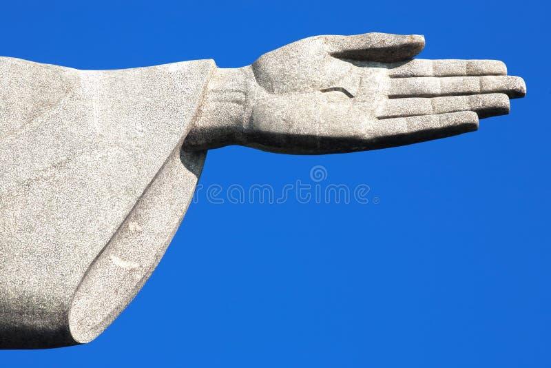 Corcovado Rio de Janeiro de statue de rédempteur du Christ image stock