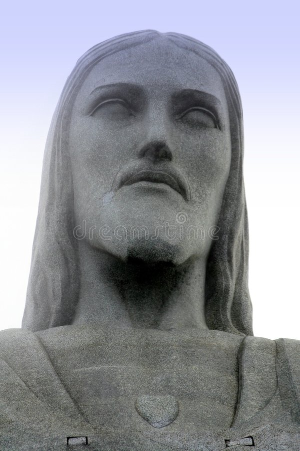 Corcovado S Christ Statue At Rio Royalty Free Stock Image