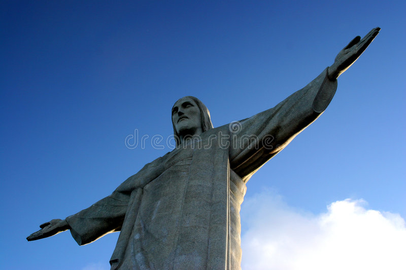 Corcovado Statue stock images
