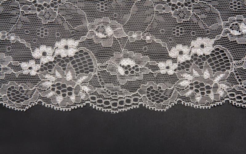 Cordón blanco decorativo fotografía de archivo libre de regalías