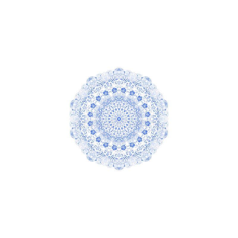Cordón del azul del arte fotografía de archivo