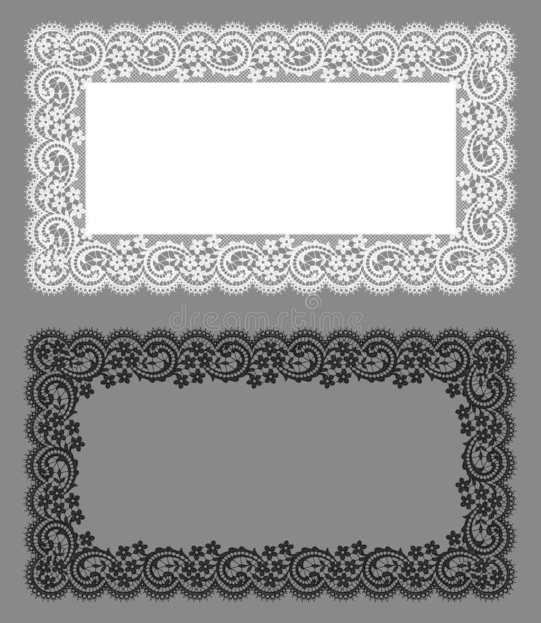 Cordón del tapetito Modelo floral libre illustration