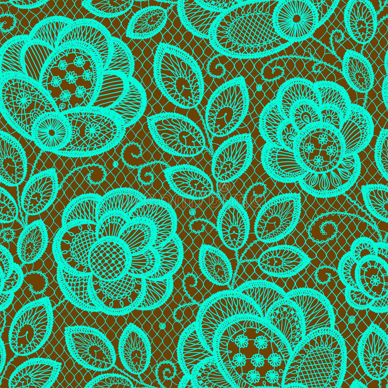 Cordón Emerald Seamless Pattern libre illustration
