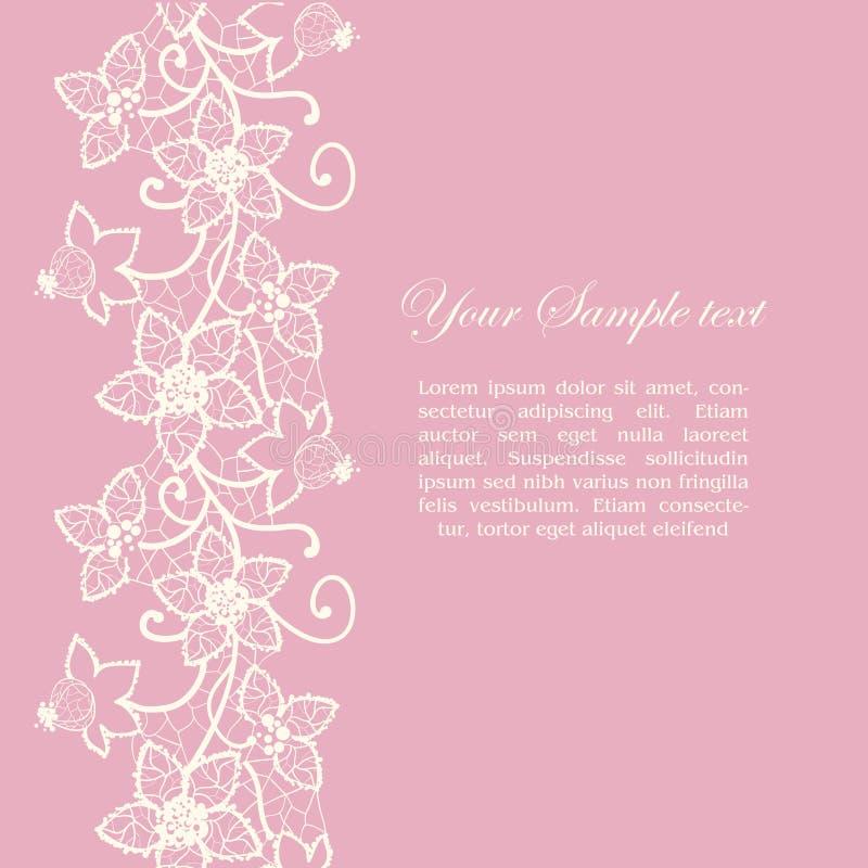 Cordón floral libre illustration