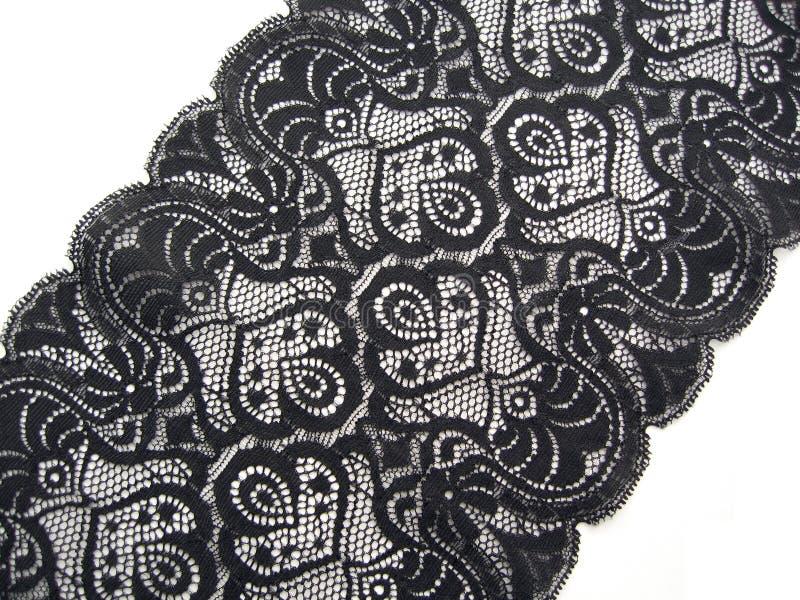 Cordón negro fotos de archivo libres de regalías
