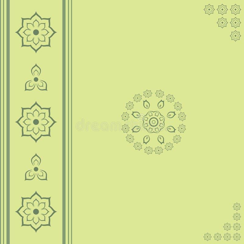 Cordón ornamental. ilustración del vector