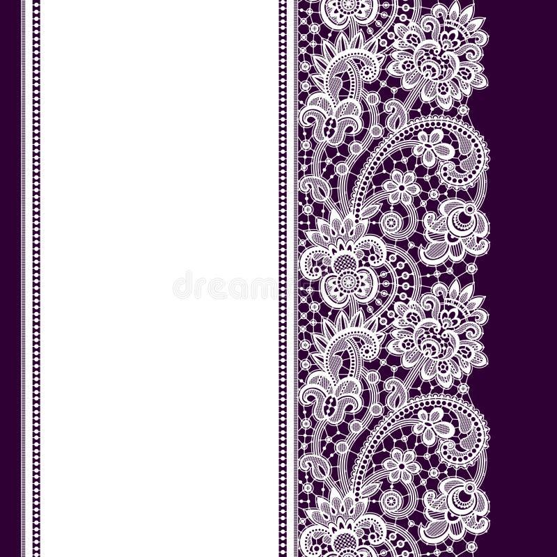 Cordón romántico del vector stock de ilustración