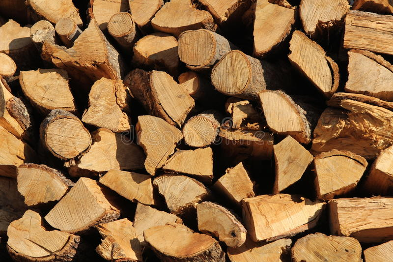 Download A cord of cut wood. stock photo. Image of burn, global - 27541434