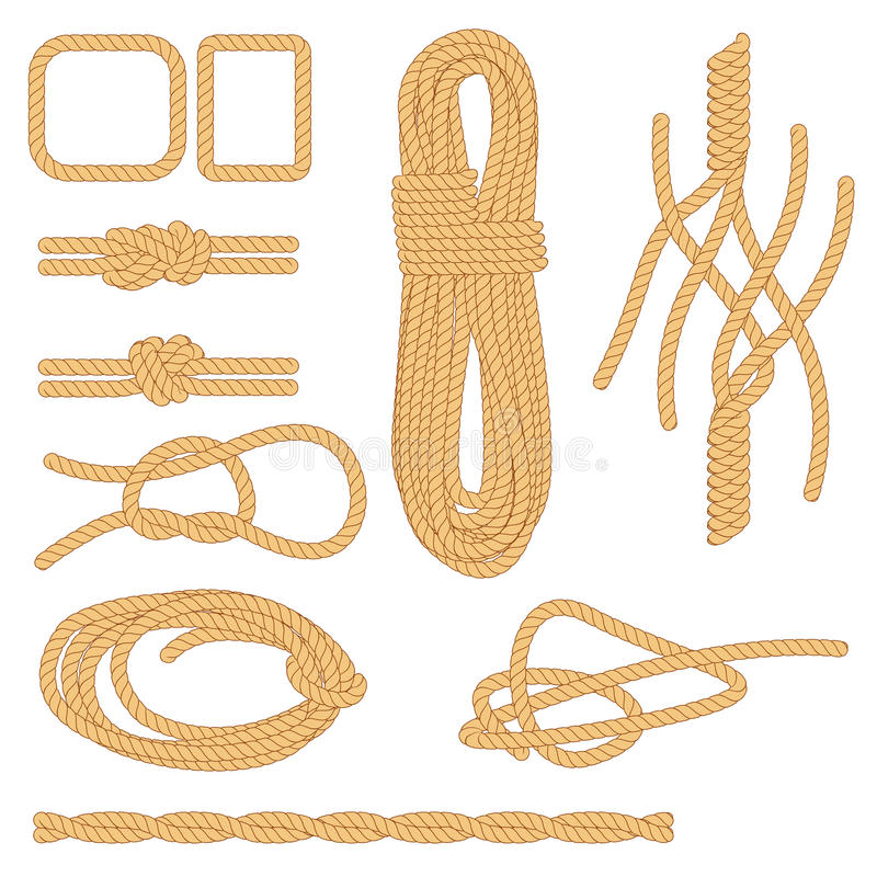 Corda ilustração royalty free