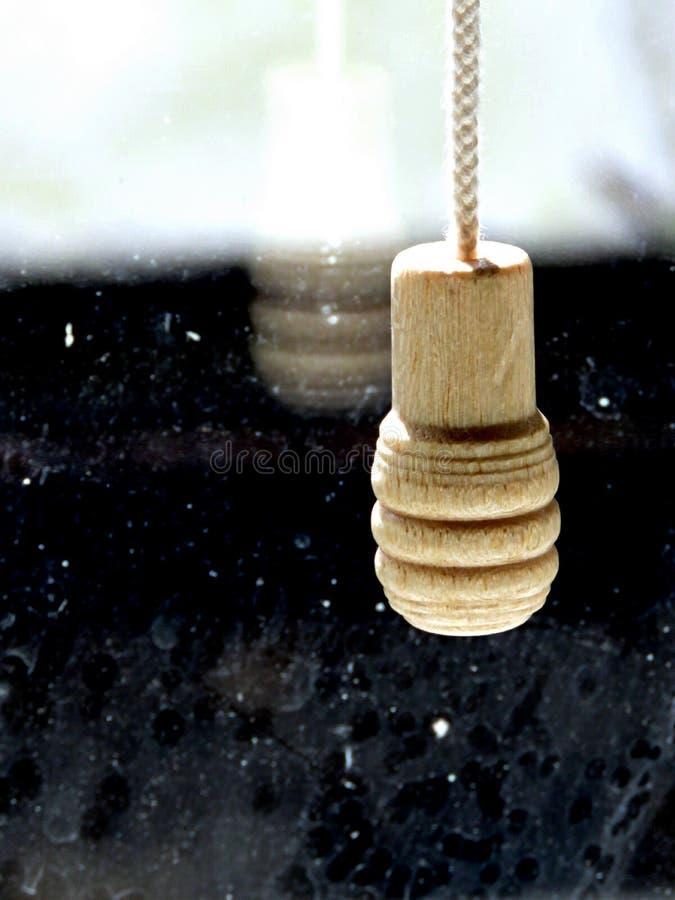 Corda cega de madeira imagem de stock royalty free