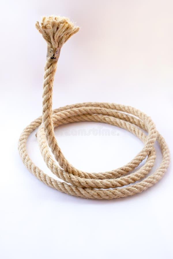A corda com a cara foto de stock
