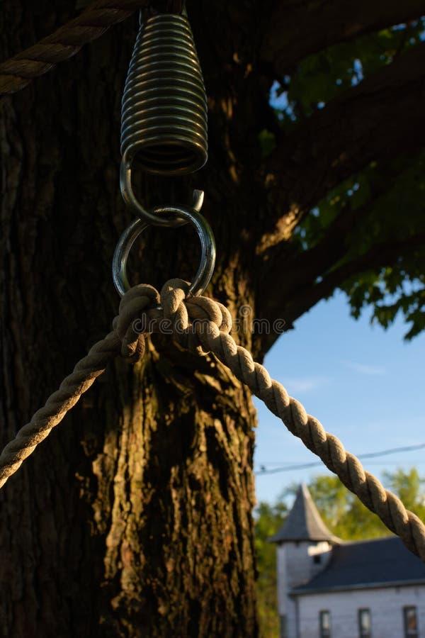 Corda da rede fotografia de stock