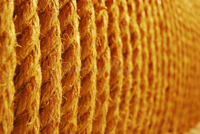 Corda de Brown fotografia de stock royalty free