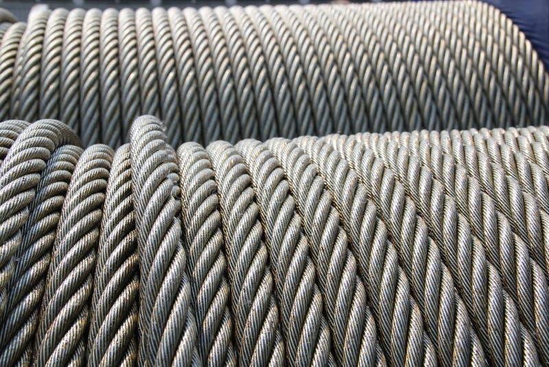 Corda de fio fotografia de stock