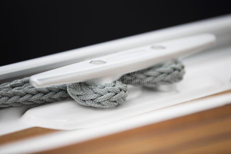 Corda di barca fotografie stock