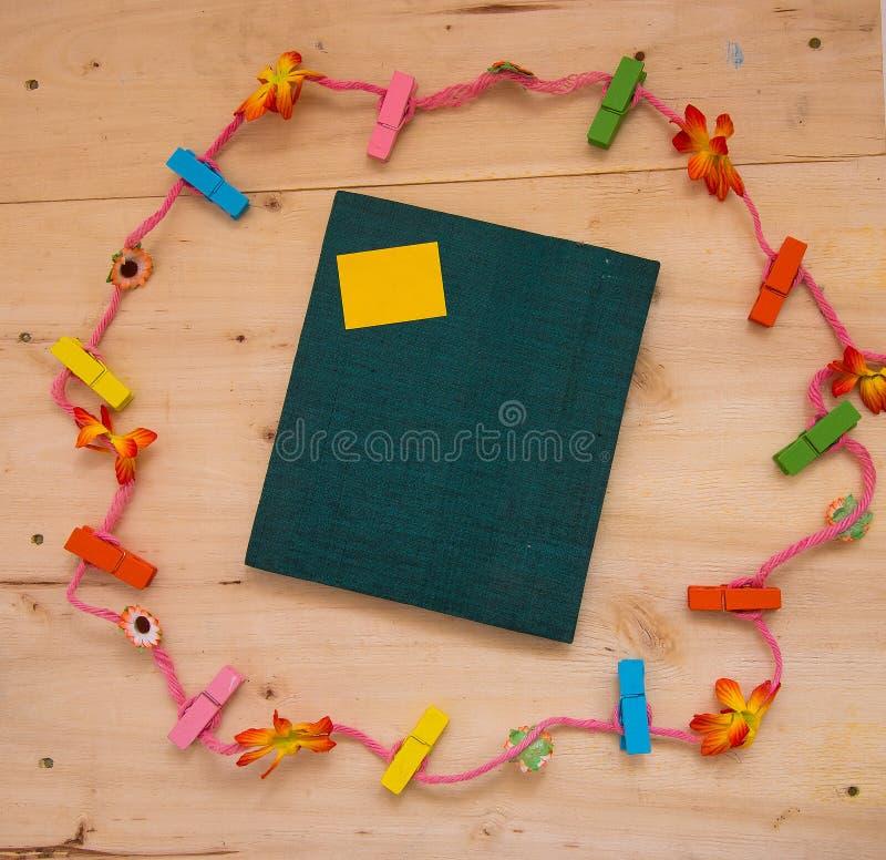 Corda do caderno imagem de stock
