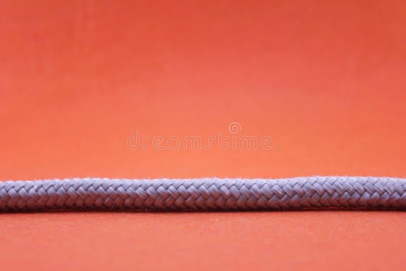 Corda e nodo fotografie stock