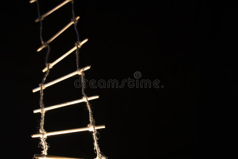 Corda-escada imagens de stock royalty free
