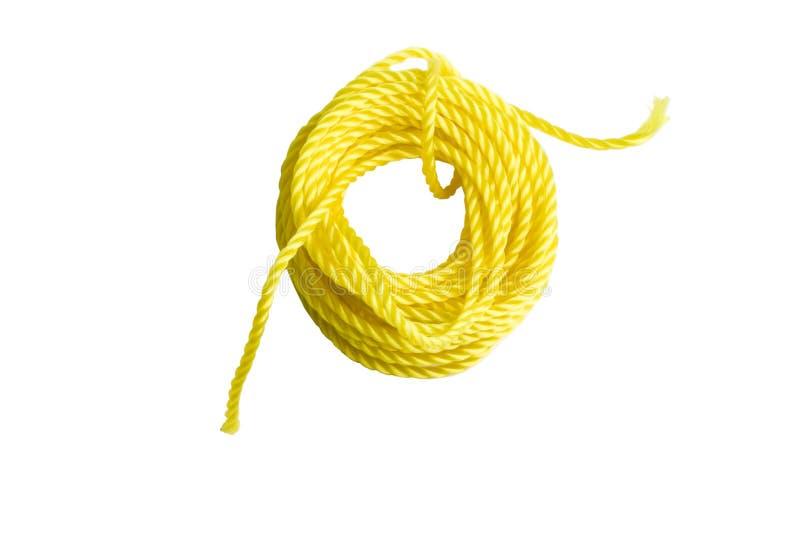 Corda gialla immagine stock libera da diritti