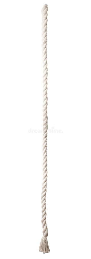 Corda isolada no branco imagem de stock royalty free