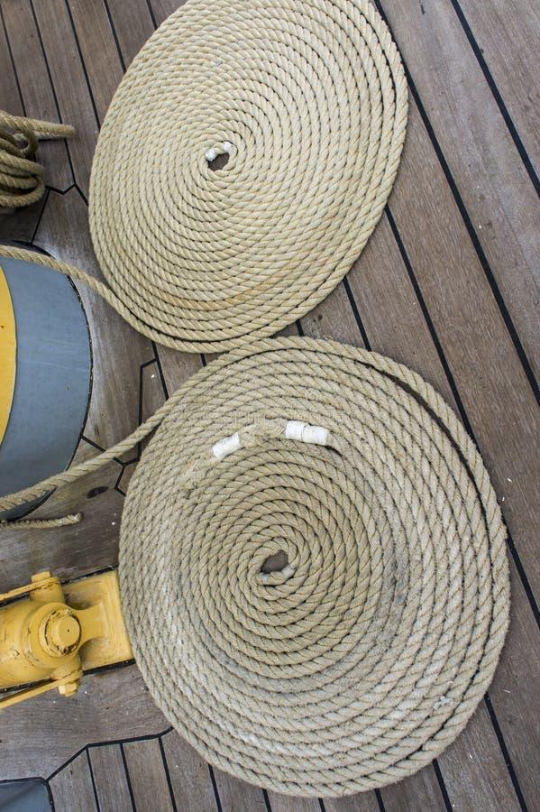 Corda marina fotografia stock libera da diritti