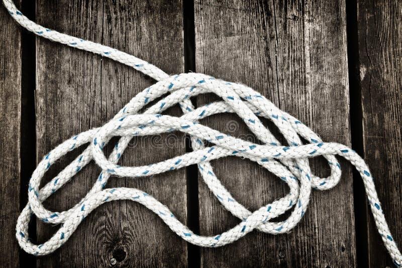 Corda náutica. foto de stock