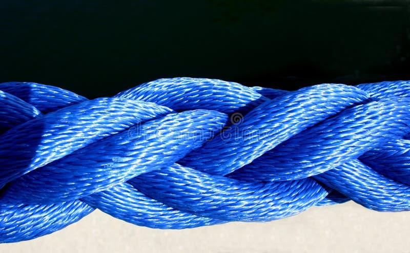 Corda nautica fotografia stock libera da diritti