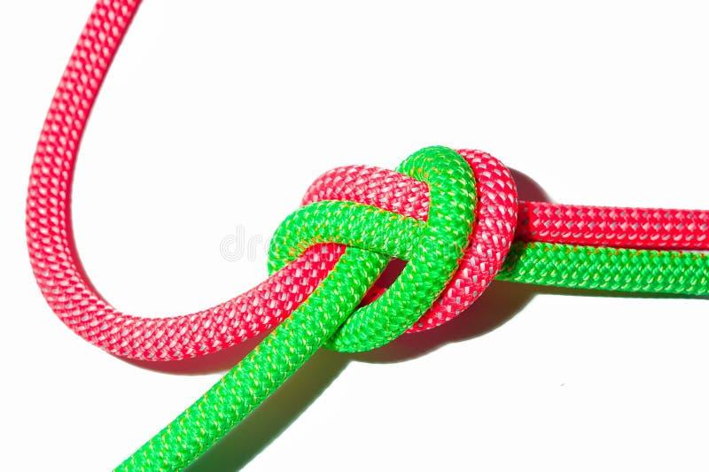 Cordas amarradas junto fotografia de stock royalty free