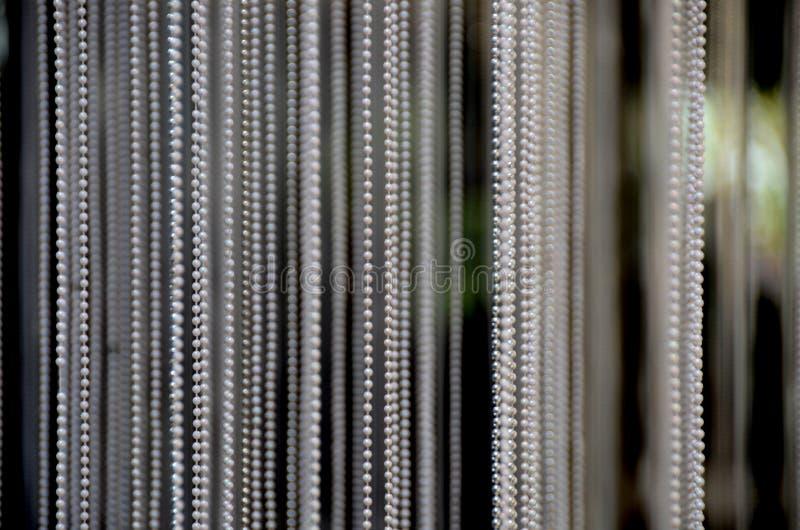 Cordas das pérolas imagens de stock