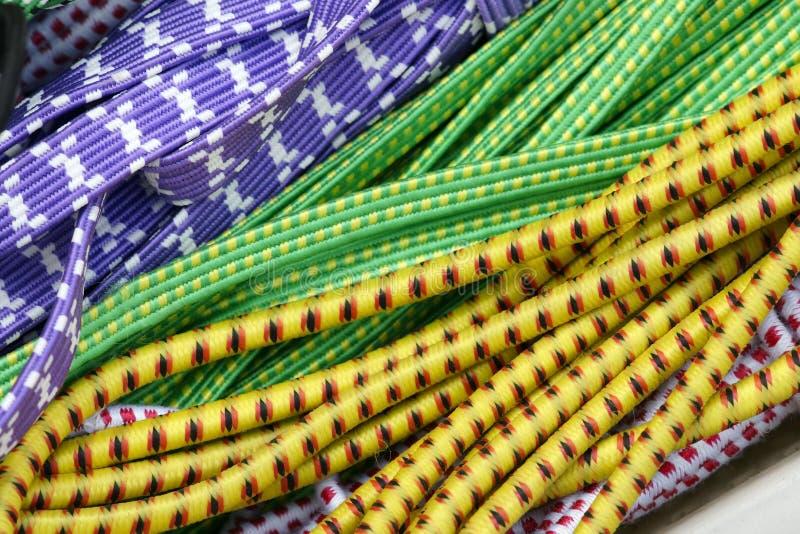 Corde élastique photographie stock libre de droits