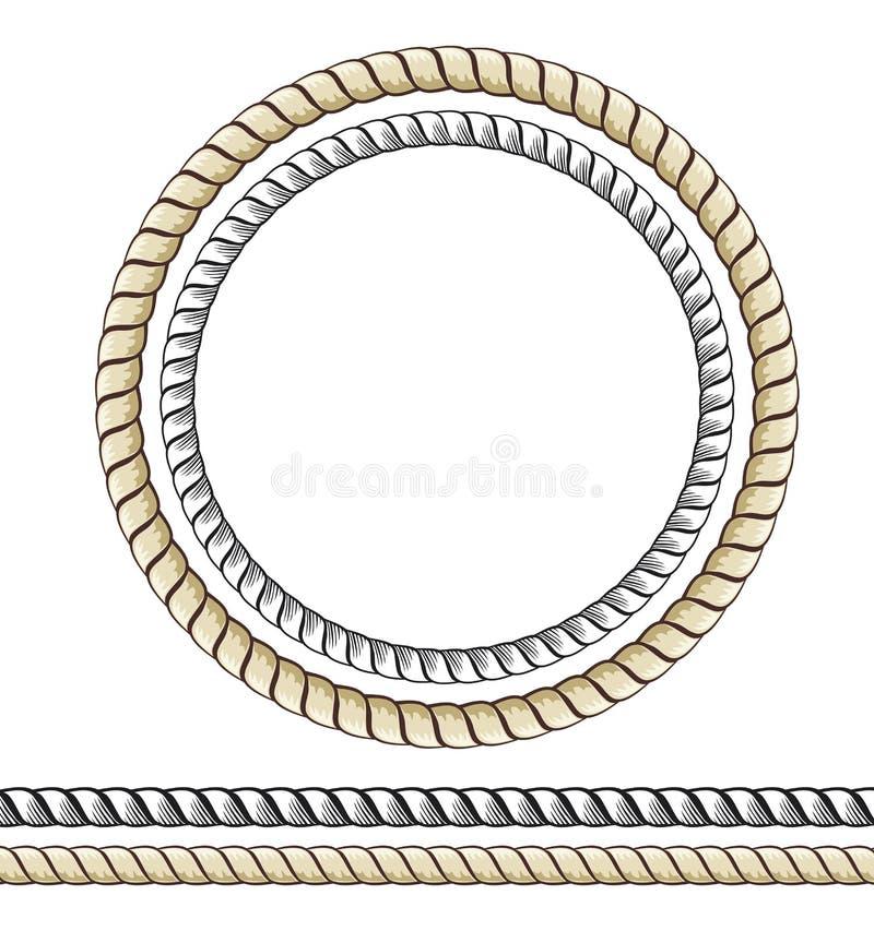 Corde illustration libre de droits