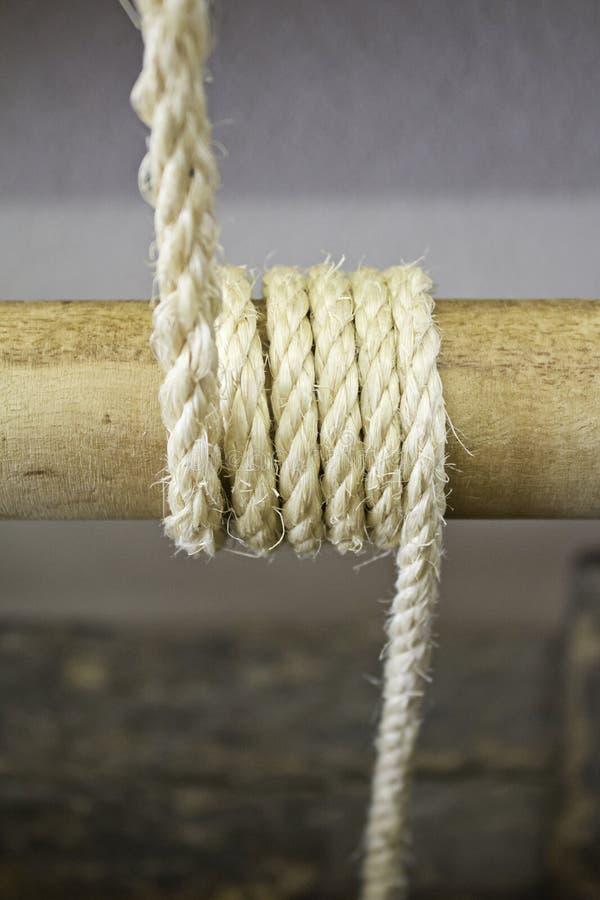 Corde attachée images libres de droits