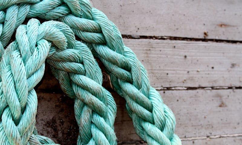 Corde de bateau photographie stock libre de droits