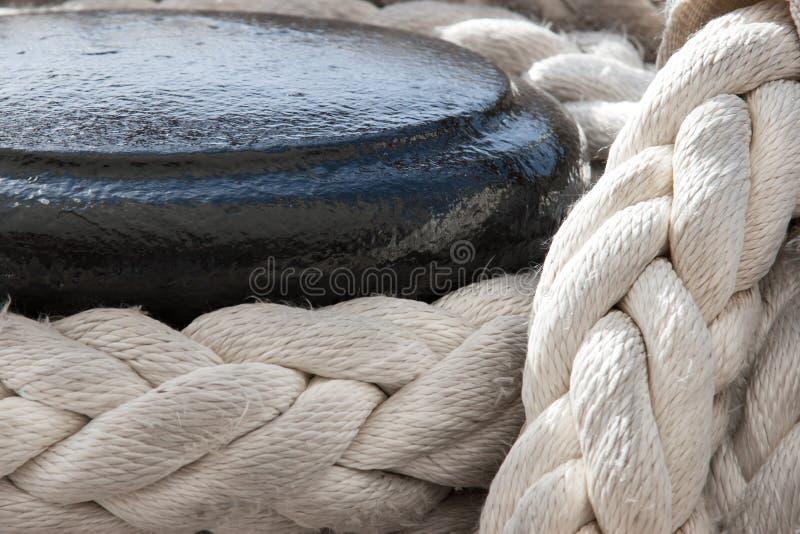 Corde de bateau image stock