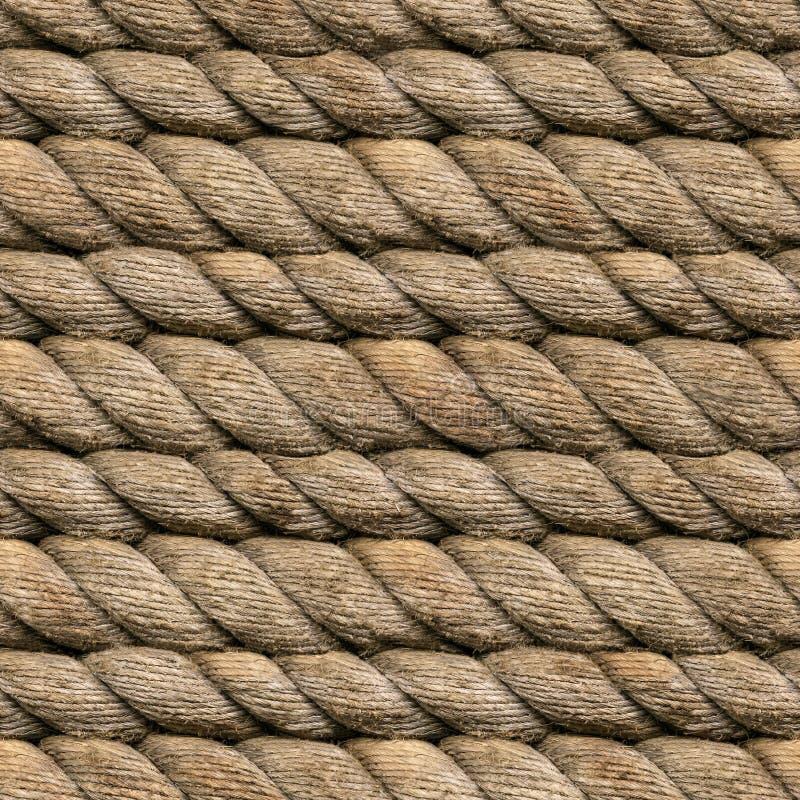 Corde de chanvre sans joint images stock